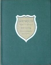 DARTMOUTH COLLEGE CLASS OF 1887 50TH ANNIVERSARY REUNION BOOK, 1937