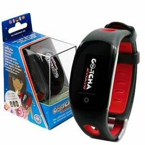 GOtcha Go-tcha Evolve RED LED Touch Screen Wristband Pokemon Go Plus Accessory