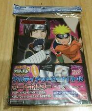 New Sealed Naruto Card Binder Carddass Bandai 2006