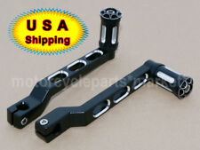 CNC Edge Cut Heel/Toe Shift Lever w/ Shifter Peg For Harley Touring Softail FLHT