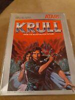 Krull for Atari 2600 Complete in Box ▪︎▪︎▪︎▪︎▪︎▪︎ FREE SHIPPING▪︎▪︎▪︎▪︎▪︎▪︎