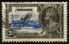 Gibraltar 1935 SG#114, 2d KGV Silver Jubilee Used #D38413