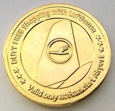 C148     LUFTHANSA  AIRLINES,  FRANKFORT,  GERMANY   MEDAL,
