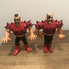 WWF/WWE The Legion of Doom Vintage Hasbro Action Figures All Spikes In Tact