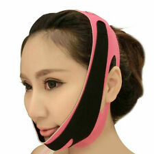 Women Face Lifting Slimming Belt Double Chin Reducer Facial Firming Shaping Mask