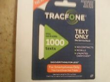 TracFone Smartphone Only Plan - 1000 Texts Must Have Active Phone Number