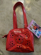 NWT Little girls Barbie Red Vinyl Purse
