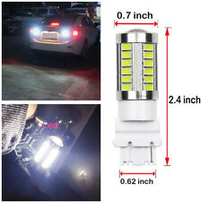 4 Pieces 3157 33smd LED Light Bulbs White 8000K 900LM 3.6W 360 Degree Beam Angle