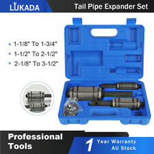 3 Piece Tail Pipe Expander Set Muffler Exhaust Pipe Dent Remover Tool Kit LUKADA