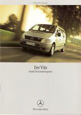 Prospekt / Brochure Mercedes Vito Kombi 01/2003