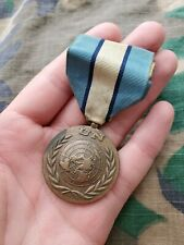 Canadian United Nations Un Forces in Cyprus Unficyp full size medal