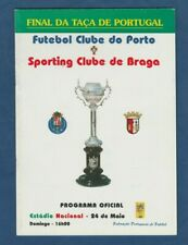 Orig.PRG  Portugal Pokal / Cup  1997/98  FINALE  FC PORTO - SPORTING BRAGA ! TOP