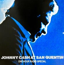 Johnny Cash At San Quentin: One Hour Radio Special [Promo] (CD) *RARE