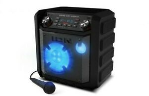 ION IPA80A Game Day Lights Bluetooth Wireless 50 Watt Speaker 50 HourRechargable