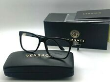 NEW VERSACE Eyeglasses OVE3243 GB1 BLACK  55-17-145MM /NIB ITALY