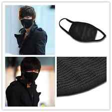 Fashion Unisex Cycling Healthy Mouth Face Anti-Dust Cotton Respirator Mask Black