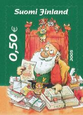 Finland 2005 MNH - Christmas - Designed by Mauri Kunnas - Issued October 28