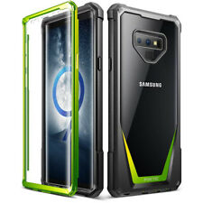 Samsung Galaxy Note 9 Case,Poetic® Hybrid Armor Shockproof Bumper Cover Green