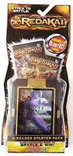 REDAKAI Conquer The Kairu, X-READER STARTER PACK, includes 22 cards Mint On Card