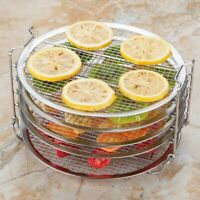 Kispog Dehydrator Rack Grill Accesories Compatible For Ninja Foodi 6.5 & 8 qt, I