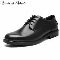 Bruno MARC Mens Oxford Shoes Classic Lace up Casual Shoes Business Dress Shoes