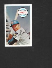 1970 KELLOGGS 3-D #42 Ron Santo  CHICAGO CUBS  HOF  NM  ( No Cracks )   A