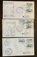 ROSS Antarctic Polar Cover Lot, Scott Base, Vanda Station 124-8