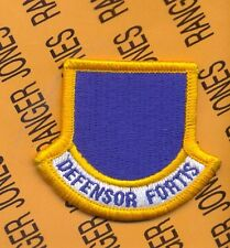 USAF Security Forces Police Squadron SFS SPS Officer beret flash patch m/e E