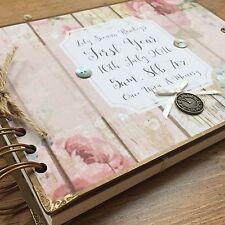 Libro De Memoria Personalizado Scrapbook// álbum de fotos/Libro De Visitas/Baby's First Year