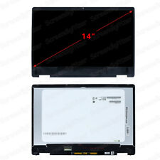 Digitizer HD WXGA Display BRIGHTFOCAL New LCD Screen for HP 14-dq0011dx 14-DQ0011DX 14.0 Embedded Touch Screen LED