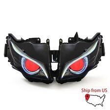 KT for Honda CBR1000RR 2012-2016 Headlight Assembly Eagle Eye HID Projector Red