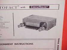 1966 FORD MUSTANG FAIRLANE FALCON RANCHERO TRUCK MERCURY AM RADIO SERVICE MANUAL