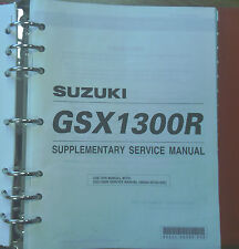 Suzuki Service Manual for GSX-1300R 99501-39330-03E
