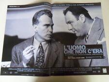 """#LOCANDINA FILM """"L'UOMO CHE NON C'ERA"""" (B)"""