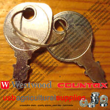 IGNITION KEYS COUNTAX TRACTORS NEXT DAY DELIVERY. RIDE ON MOWER LAWNMOWER