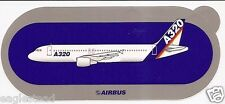 Baggage Label - Airbus - A320 - House V4 - Not Industrie - Blue Bkgnd (BL478)