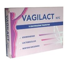 Vagilact Vaginal Tabls. *10 / disturbance of the vaginal microflora balance