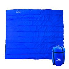 Double Outdoor Camping Sleeping Bag Hiking Thermal Tent Winter -10??C 220x160cm