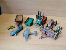 Dinky Toys Job Lot Farm Race Car Forklift
