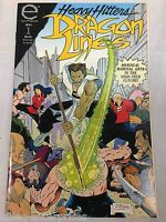 Dragon Lines #1 Comic Book Epic 1993 - Heavy Hitters