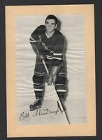 1944-63 Beehive Group II New York Rangers Photos #342 Bill McDonagh