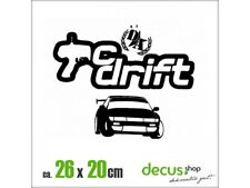 RC Drift XL 1145 // sticker JDM Autocollant Vitre Frontale