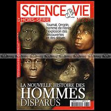 SCIENCE & VIE HORS-SERIE ★ LA NOUVELLE HISTOIRE DES HOMMES DISPARUS ★ 2006