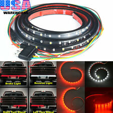 60 inch Truck SUV Tailgate LED Light Bar Turn Signal Reverse Back Up Brake Light