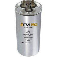 Titan Pro TRCFD455 45+5 MFD 440 370V Round Motor Run Capacitor