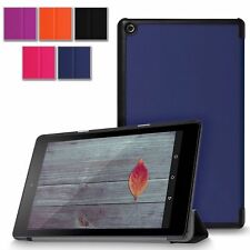 Slim Leather Flip Smart Case Stand For Amazon Kindle Fire HD 7 / 8 / 10 (2015)
