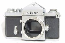 Nikon F Eye-Level 35mm SLR Film Camera Silver Body Only SN6414922 from Japan