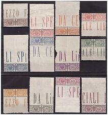 REGNO 1927-32  - PACCHI POSTALI -  SERIE NUOVA  ** LUSSO