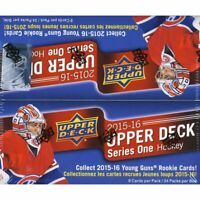 2015/16 UPPER DECK HOCKEY SERIES 1-24 PACK RETAIL BOX-6 YOUNG GUNS🔥McDAVID(R)🔥