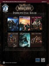 World of Warcraft Instrumental Solos for Strings: Violin, Book & CD Book New